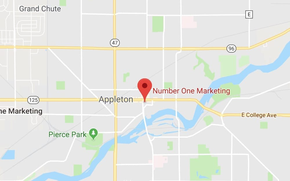 Number One Marketing Map